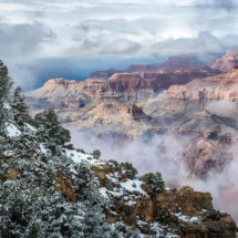 April Open A_Fog Over the Grand Canyon_Ryan Kirschner_Image of the Month_20170424