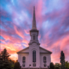Church at Sunset_Ryan Kirschner_Open Salon_Honorable Mention