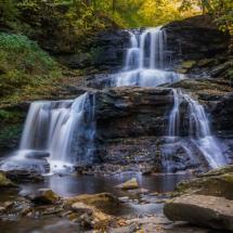 Ricketts Glen Waterfall_Ryan Kirschner_Open Salon_Equal Merit