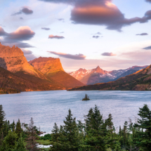 Sunrise in Glacier National Park_Ryan Kirschner_Open Salon_Honorable Mention