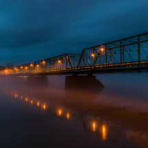 Midnight on the Bridge of Secrets_Chris Manning_Assigned B Night Photography_Equal Merit