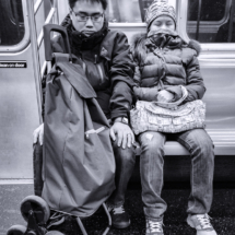 Nap Time on the N Train_Al Brown_Open Salon_Honorable Mention
