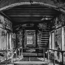 Upper Tier at the Prison_Ellen Stein_Assigned Salon Decayed Architecture_Honorable Mention