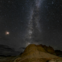 Milky Way and Mars_Nick Palmieri_Assigned Salon Landscapes_Honorable Mention