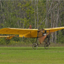 The Man & His Flying Machine_Ron Denk_Assigned Salon Machinery_Honorable Mention