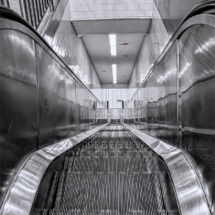 Escalator_Christine Cuthbertson_Assigned Salon Leading Lines_Equal Merit