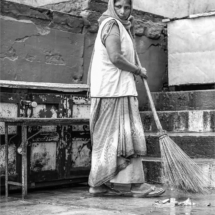 Keeping the Community Clean near the Ganges River_Christine Cuthbertson_Open Salon_Honorable Mention