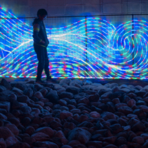 The Lights Mimic Water_Dyan Bryson_Assigned A Patterns & Textures_Equal Merit