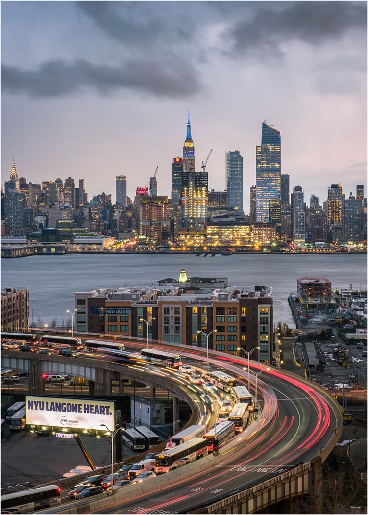 Image of the Month - A - NJ Traffic and NYC by Ryan Kirschner