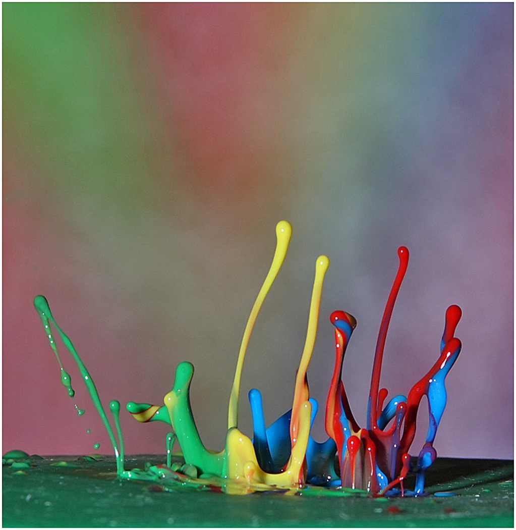 Image of the Month - Salon - Paint Drops by Ben Venezio