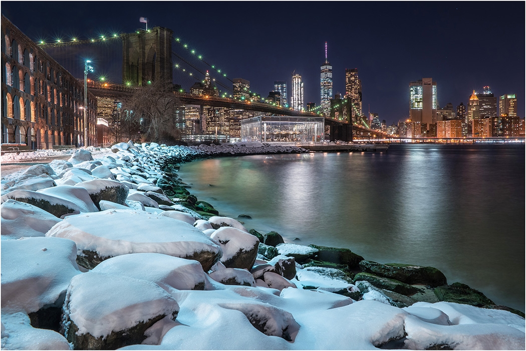 Image of the Month - A - Winter in NYC by Ryan Kirschner