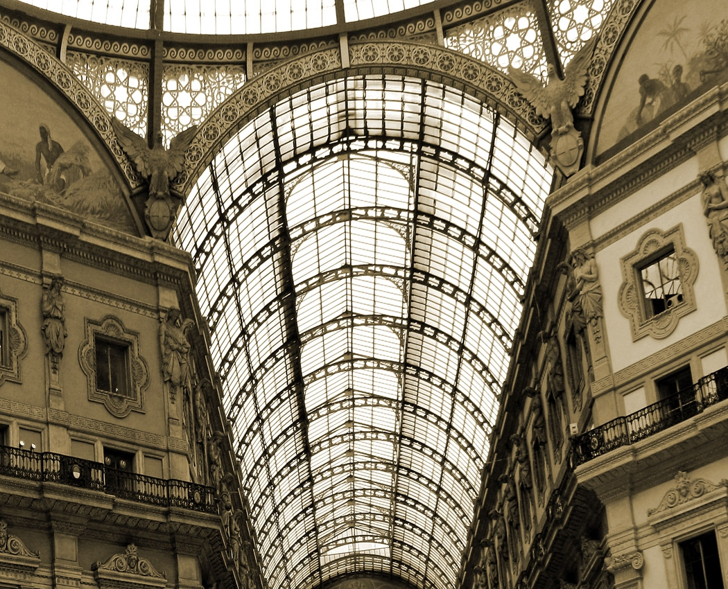 Image of the Month - B - Galleria Milano by Carol Gaffney